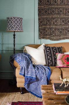 Boho style decorating means expressing yourself with vibrant colors, textiles and patterns to reveal your personality. Get the look with our tips ahead...