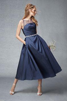 Monique Lhuillier Bridesmaid dress Fall Winter 2015
