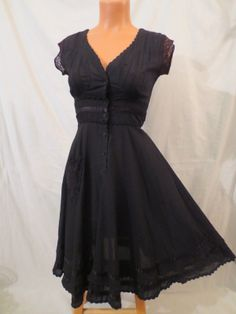 Vintage 80s black dress THE LIMITED - $29.99 at JOHNNY BOMBSHELL #goth #boho #rockabilly