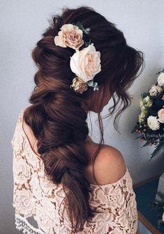 Зачіски на випускний довге волосся