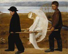 The Wounded Angel painter : Hugo Simberg/ 1903