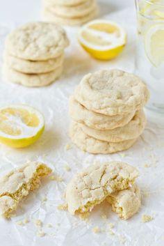 meyer lemon cookies   mybakingaddiction.com