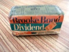 Brooke Bond Tea…before tea bags were invented!