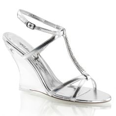 online shopping for Fabulicious Women's Lovely 428 Slingback Casual Sandals from top store. See new offer for Fabulicious Women's Lovely 428 Slingback Casual Sandals Closed Toe Shoes, Open Toe Sandals, Shoes Sandals, Women Sandals, Heeled Sandals, Hot Shoes, Strap Sandals, Silver Wedge Sandals, Silver Wedges
