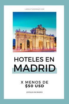 Hoteles baratos para hospedarte en Madrid.  #madrid #españa #vivirparavolar #viajes #viajesporelmundo #viajarporelmundo #viajarsola #viajar #viajeros #viajarbarato #viajerosmochileros #viajerosporelmundo #nomadas #nomadadigital Madrid, Explore, Travel, Bucket, Elopements, Hotels, London, Tourism, Cities