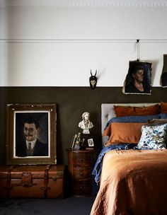 Melissa Harris Of Those We Fancy Fame Shares Her Renovated Home. Melissa Harris Of Those We Fancy Fame . Home Bedroom, Modern Bedroom, Bedroom Decor, Master Bedrooms, Cabana, Melbourne House, Bedroom Vintage, Vintage Bedroom Styles, Australian Homes