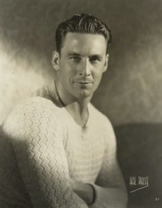 "Silent actor George O'Brien. Best know for his lead role on Murnau's film ""Sunrise: A song of two humans."""