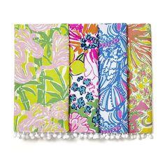 Floral Napkins #LillyPulitzer