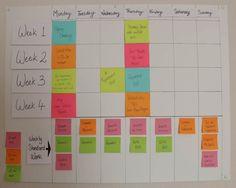 Good Time Management, Planner Organization, Organizing, Creating A Blog, Mom Blogs, Blog Tips, Calendar, Writing, How To Plan