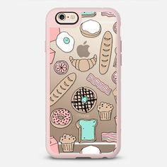 Brunch Me - New Standard iPhone 6/6S #Protective Case in Peach Pink and Clear by @andrealauren4 #phonecase | @casetify