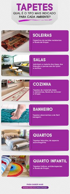How to buy rugs: find out which type is most suitable for .- Como comprar tapetes: descubra qual tipo é mais indicado para você! How to buy rugs: Find out which type is right for you! Small Space Interior Design, Decor Interior Design, Interior Design Living Room, House Inside, Buy Rugs, Facade House, Sustainable Design, Interior Design Inspiration, Decoration