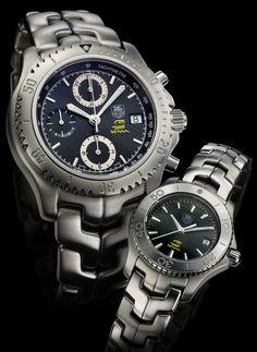 75c5e37412f8 TAG Heuer Ayrton Senna Link Limited Edition  Senna  watches Reloj Watch