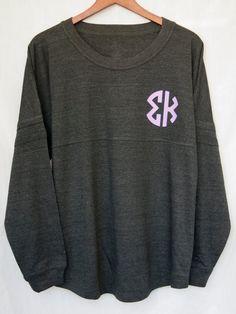 Sigma Kappa Charcoal Pom Jersey by UniversityShop on Etsy