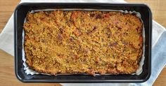 I've been making this awesome nut roast regularly throughout the Summer. It's packed full of protein from the quinoa and the nuts.