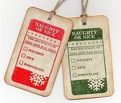 fun christmas tags