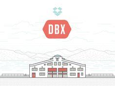 Dropbox DBX Save The Date by Ryan Putnam for Dropbox