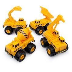 mini trucks (4 assorted)