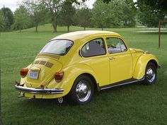 I remember moving from Huntsville, TX to Post, TX in a VW Beetle.  It was my mom, older brother and sister and I.  There is no more memorable smell than the inside of an old-school bug.