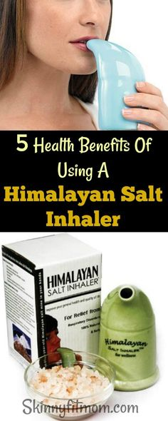 5 Health Benefits Of Using A Himalayan Salt Inhaler- You will never believe what you have been missing not using one. These benefits are so priceless. Health Benefits, Health Tips, Health And Wellness, Health Fitness, Fitness Tips, Herbal Remedies, Natural Remedies, Salt Inhaler, Himalayan Salt Benefits
