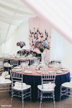 NAVY BLUE WEDDING | свадьба в синем цвете, синяя свадьба