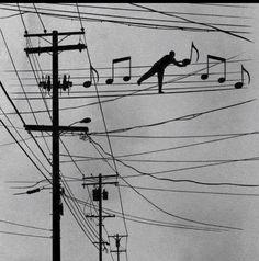 High wire act... Wichita Lineman
