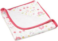 i play. Baby-girls Newborn Organically Grown Receiving Blanket, Pink Cottage, 30X30-Inch i play.. $25.00