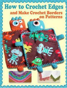 How to crochet edges crochet borders on patterns