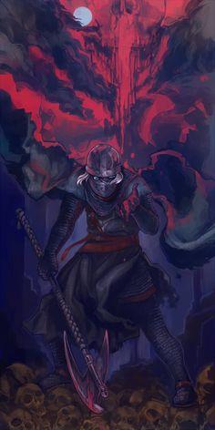 Dark Souls 2 - Creighton of Mirrah Arte Dark Souls, Dark Souls 2, Fantasy Armor, Dark Fantasy, Dnd Characters, Fantasy Characters, Soul Saga, Character Art, Character Design