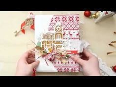 Lovely things: Зимний альбом и видео December Daily, Mini Albums, Carol Of The Bells, Junk Journal, Gift Wrapping, Make It Yourself, Christmas, Blog, Minis