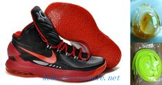 watch 74f27 0662b Nike Zoom Kevin Durant 5 KD V Black Sport Red 554988 005 Kevin Durant  Basketball Shoes