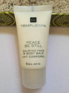 Templespa- Peace be still calming face and body balm - brand new