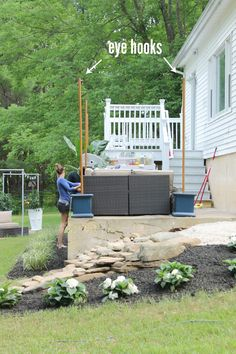 DIY Outdoor Light Poles : adding outdoor lighting - www.canuckmediamonitor.org