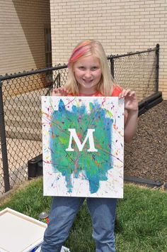 Pop Art   Fun and Easy Birthday Craft Tutorial by Diy Ready http://diyready.com/19-awesome-birthday-party-craft-ideas-that-will-make-your-day-special/