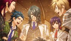 Kamigami no Asobi - Hades, Dionysus, Takeru, Yui, Apollon