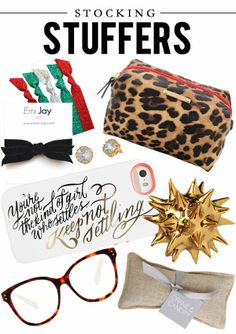 Stocking Stuffer Ideas. www.stelladot.com/kristenfine