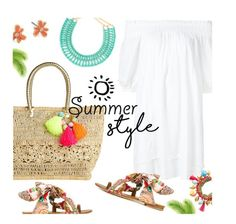 """""""Summer Style"""" by stacey-lynne on Polyvore featuring Apiece Apart, Lilly Pulitzer, BaubleBar, Etro and Kate Spade"""