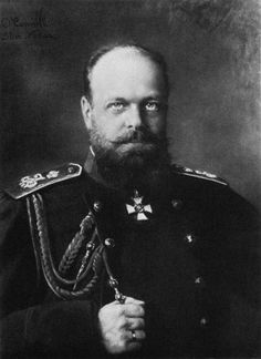 """Alexander III // by Felix Nadar, French Photographer. Alexander III , or Alexander Alexandrovich Romanov ( 10 March 1845 – 1 November 1894) was Emperor of Russia, King of Poland and Grand Prince of Finland from 13 March  1881 until his death on 1 November 1894. He was highly conservative and reversed some of the liberal reforms of his father, Alexander II. During Alexander's reign Russia fought no major wars, for which he was styled """"The Peacemaker"""" ( Миротво́рец)."""