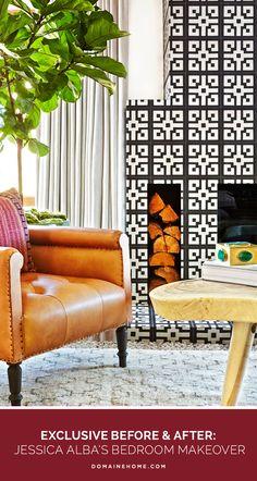 Jessica Alba Bedroom Design