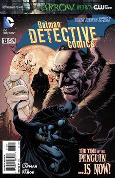 The Hardcover of the Batman: Detective Comics Vol. Emperor Penguin (The New by John Layman, Jason Fabok, Andy Clarke Batgirl, Catwoman, Nightwing, The New 52 Batman, I Am Batman, Batman Stuff, Dc Comics, Batman Comics, Comic Superheroes