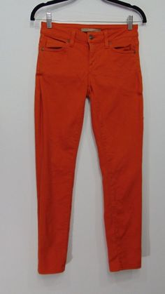 VINCE Crop Skinny Ankle Jeans in Tomato Size 25 #Vince #SlimSkinny