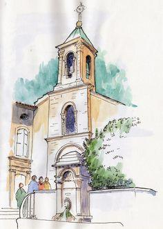 URBAN SKETCHERS FRANCE: Envie de Provence...
