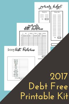 Budget Printables Dave Ramsey Debt Snowball Debt Free Scream