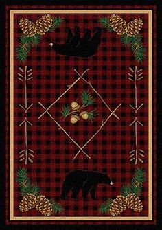 Adirondack Bear Rug