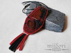 miidori: naszyjniki Beadwork, Sling Backpack, Jewerly, Backpacks, Personalized Items, Amazing, Bags, Handbags, Jewlery