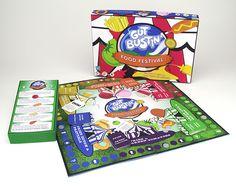 Gut Bustin' Board Game on Behance