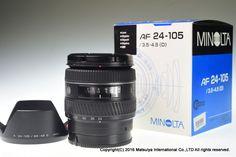 MINOLTA AF 24-105mm f/3.5-4.5 (D) Excellent #Minolta
