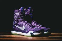 "A First Look at the Nike Kobe X Elite ""Grand Purple"" : Have a first look at the upcoming Nike Kobe X Elite ""Grand Purple"" basketball sneaker. Air Max Sneakers, Shoes Sneakers, Purple Palette, Kobe 9, Kobe Shoes, Fashion Shoes, Mens Fashion, Basketball Sneakers, Shoe Game"