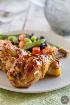 Sticky and sweet, these Honey Balsamic Drumsticks will be a meal that the whole family will devour!