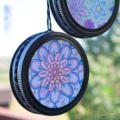 Make your own easy sun catchers with coloring pages in less than 15 minutes. Use your favorite coloring pages to create these pretty little summer crafts. This quick craft is a great project to make with a group like scouts or birthday parties. You can have the kids color coloring pages during the activity or bring …
