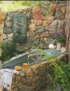 Dream outdoor bath